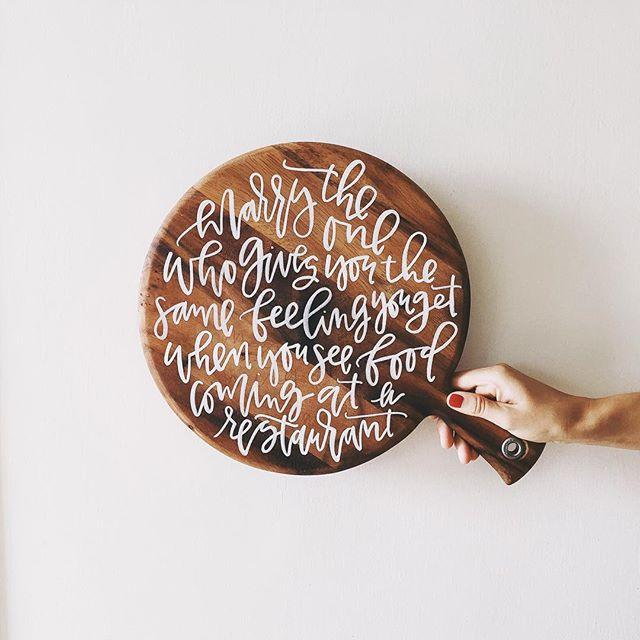 Custom Wood Cutting Board | A Fabulous Fete