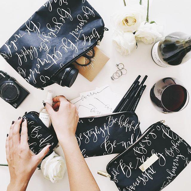 ju-ju-be calligraphy collab | A Fabulous Fete