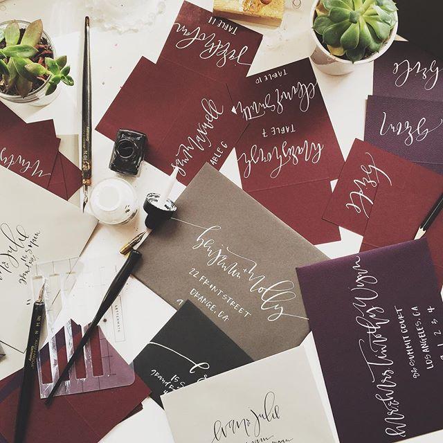 Envelope Samples | A Fabulous Fete