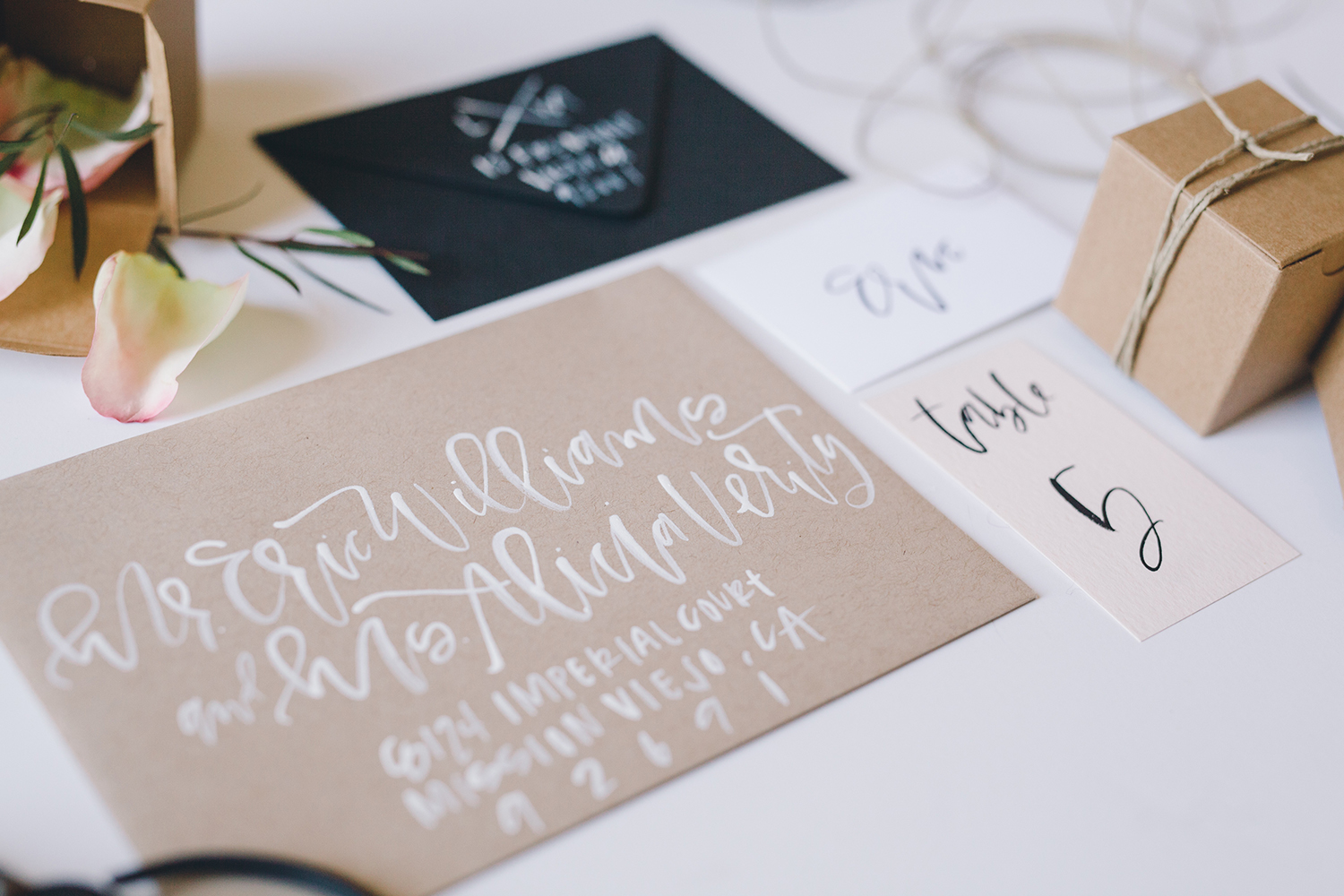 The proper way to address envelopes for your wedding to an unmarried couple | A Fabulous Fete