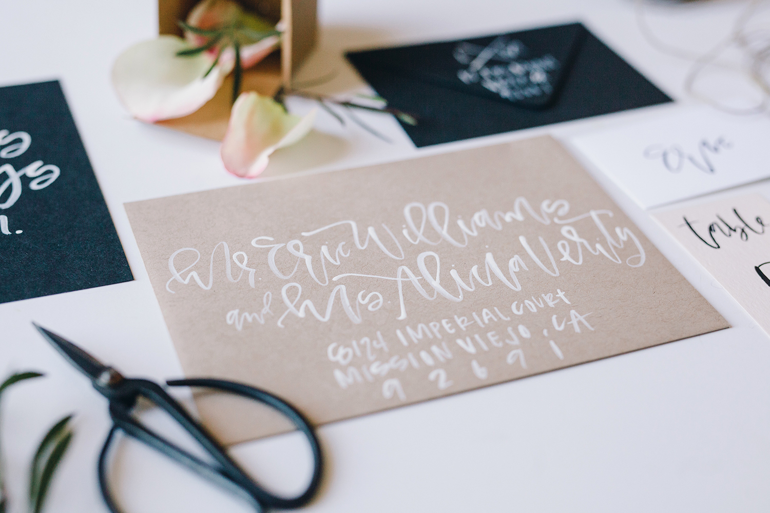 Learn how to properly address your wedding invitations | A Fabulous Fete