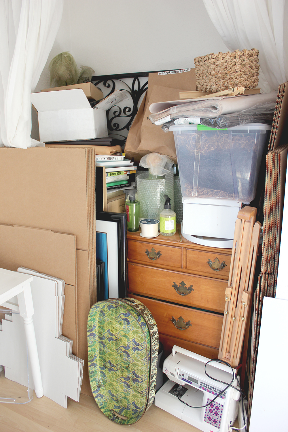 The before of a simple ikea closet transformation | A Fabulous Fete