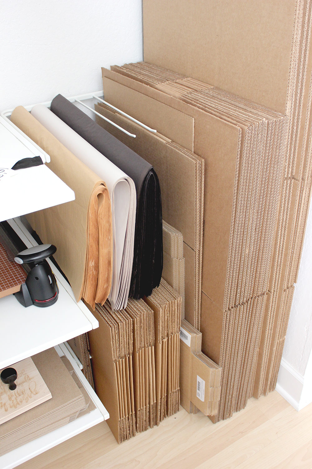 Example of Corrugated Material