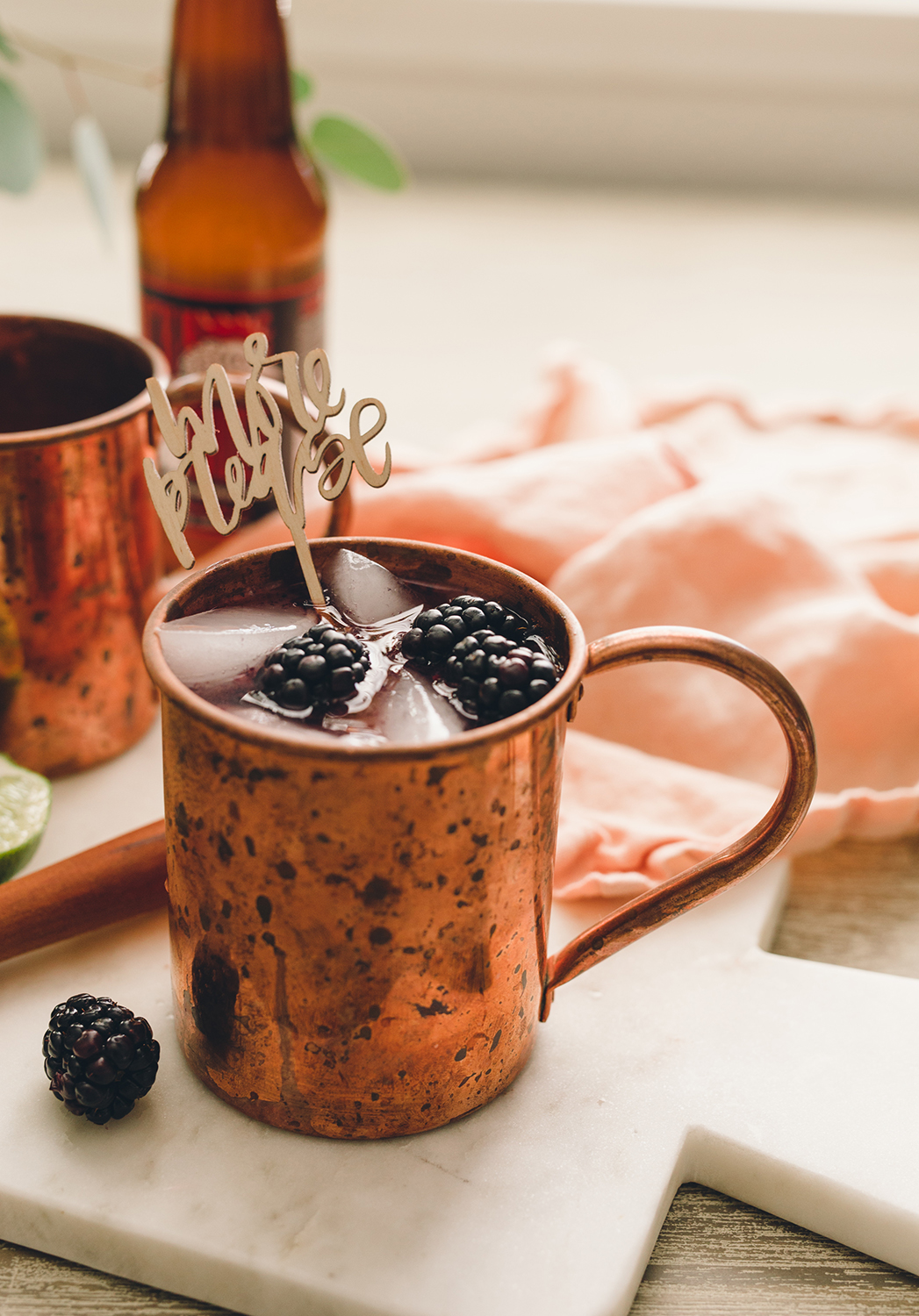 The only moscow mule recipe you'll ever need for your parties and how to switch up the flavors | A Fabulous Fete