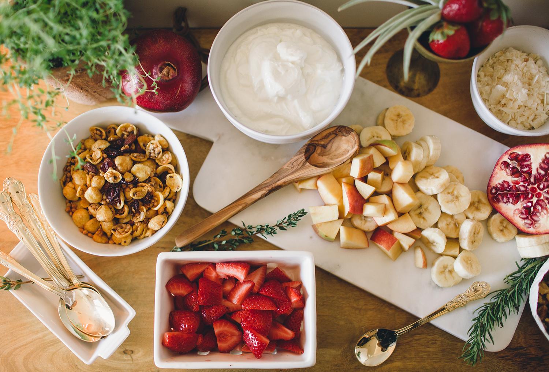 Build your own breakfast bowl bar | A Fabulous Fete