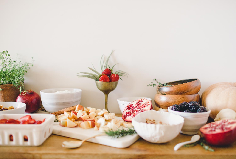 Breakfast bowl bar | A Fabulous Fete