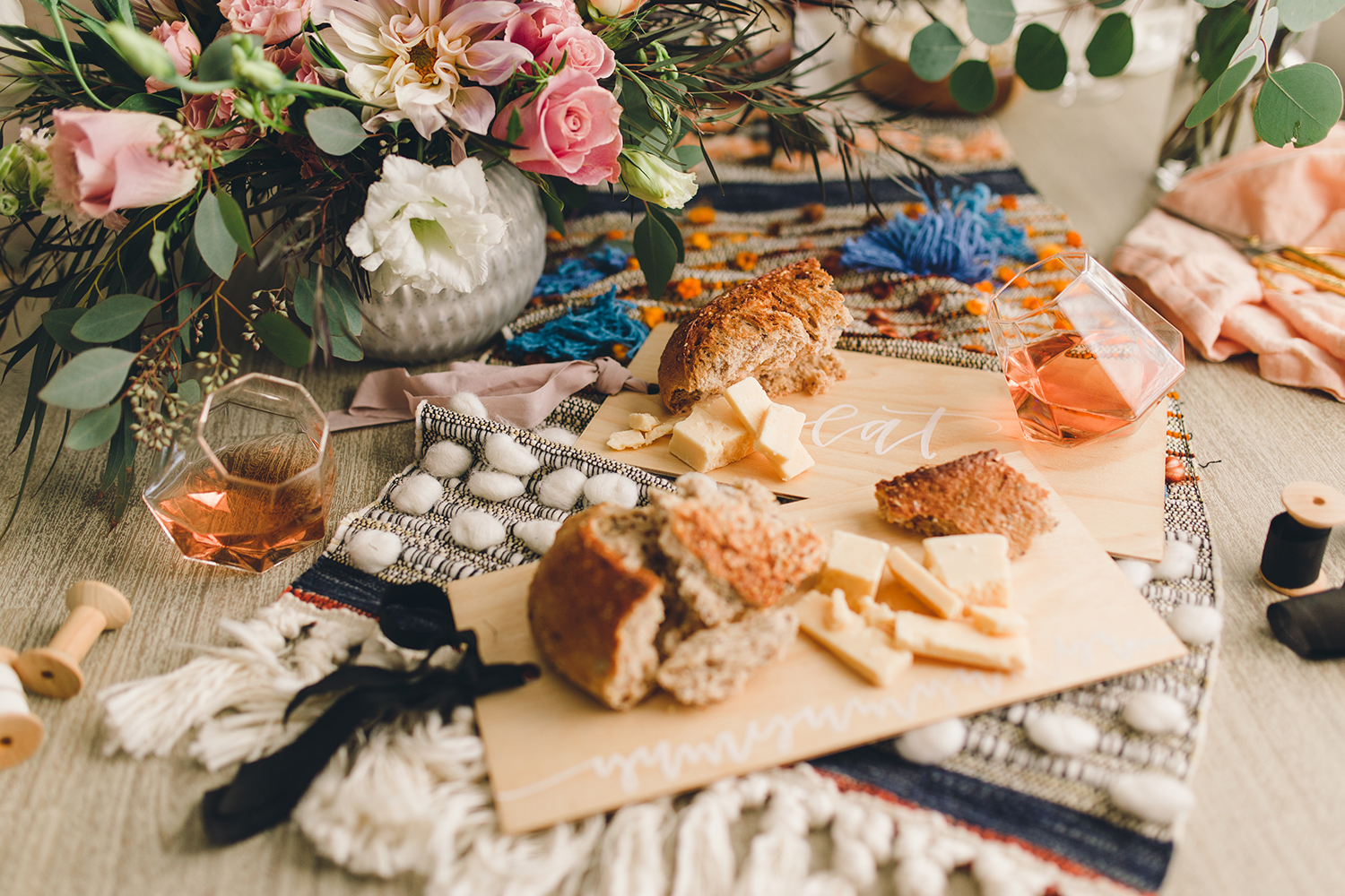 Wood serving boards for gifts, place cards or decorating the dinner table | A Fabulous Fete