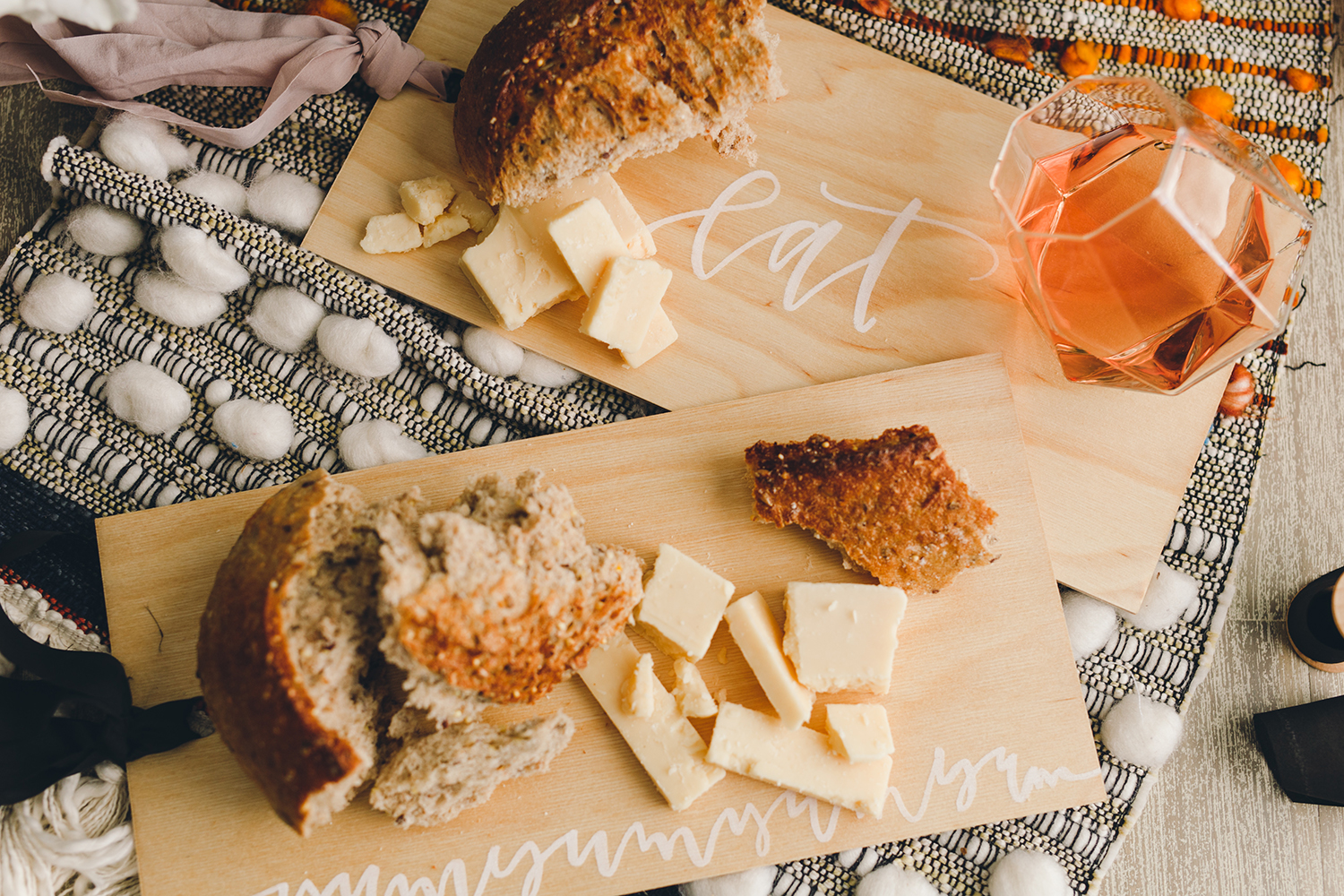 A few simple steps to creating your own custom serving boards for hosting this holiday season | A Fabulous Fete