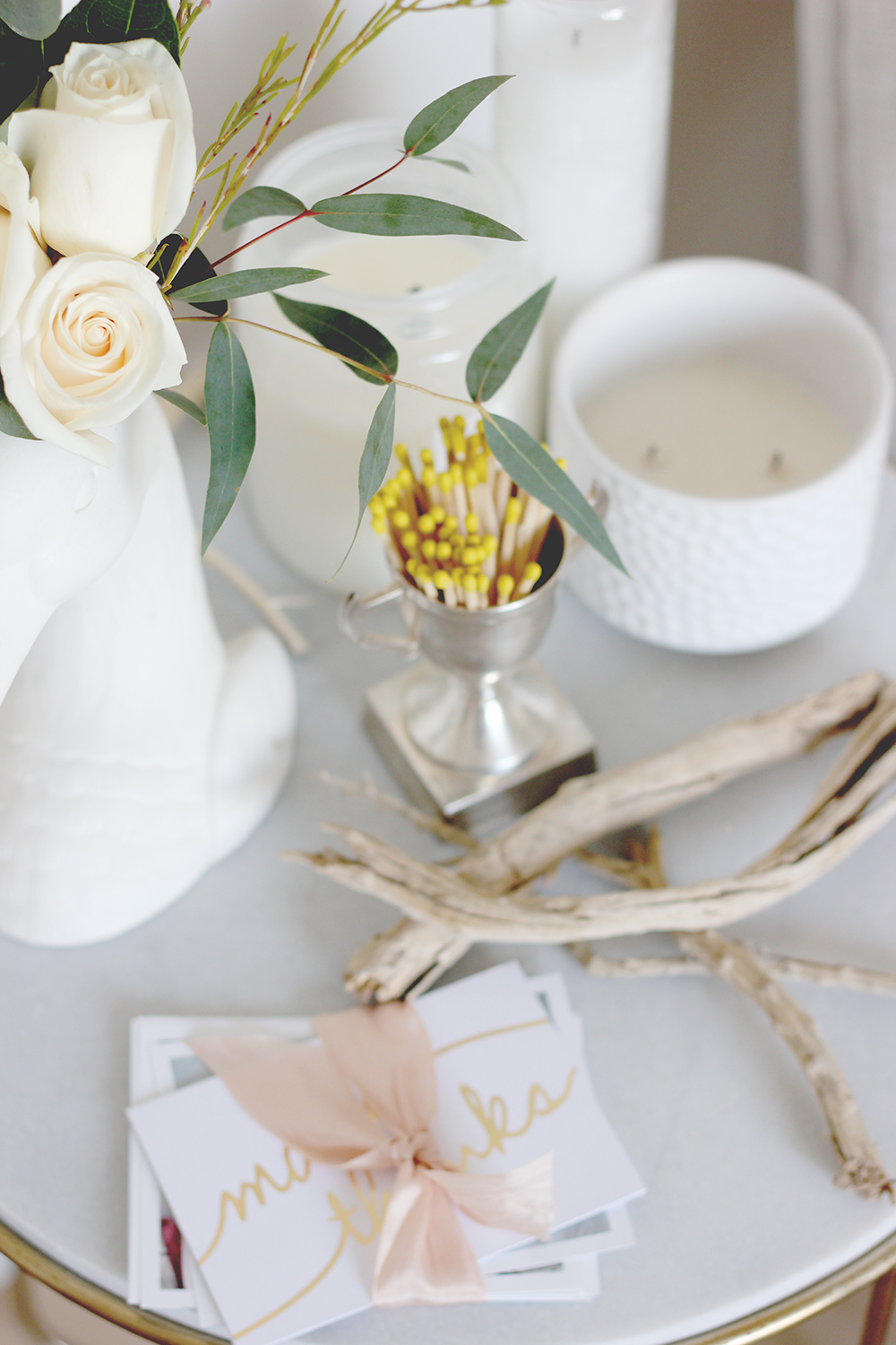 Side table styling | A Fabulous Fete