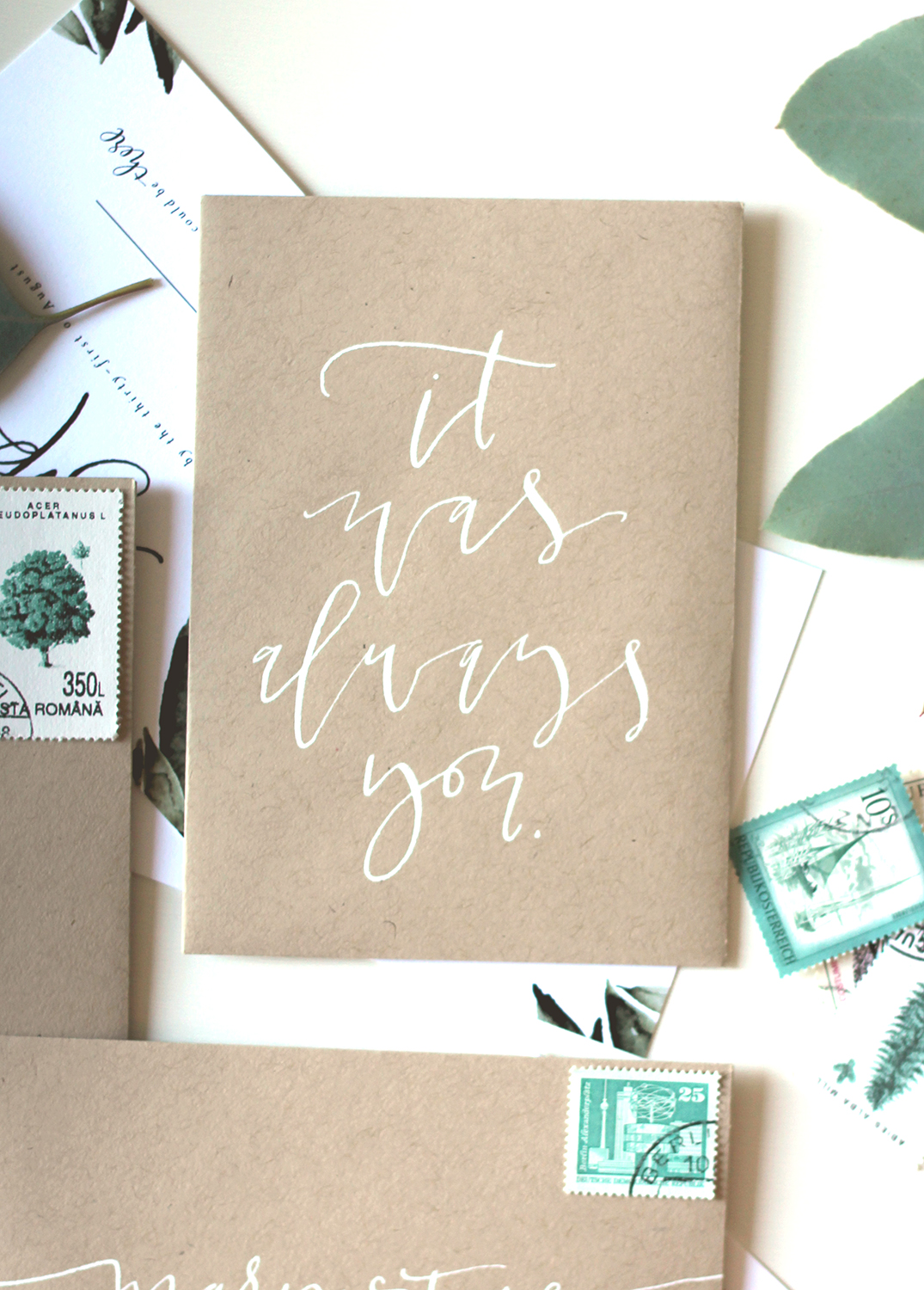 White calligraphy quote | A Fabulous Fete