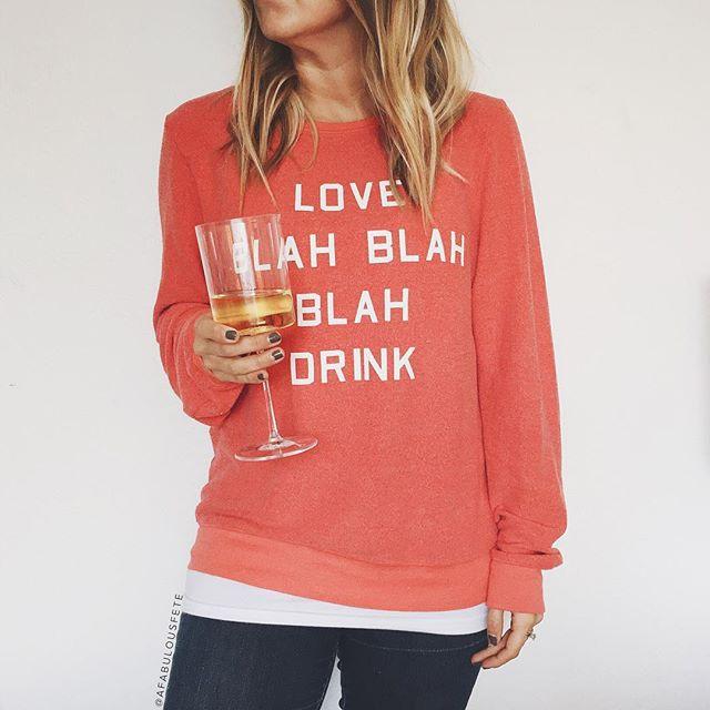 Wildfox vday sweatshirt | A Fabulous Fete