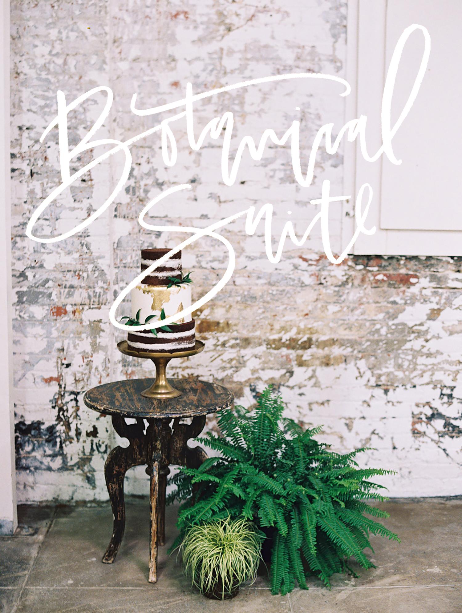 Botanical wedding invitation suite   A Fabulous Fete
