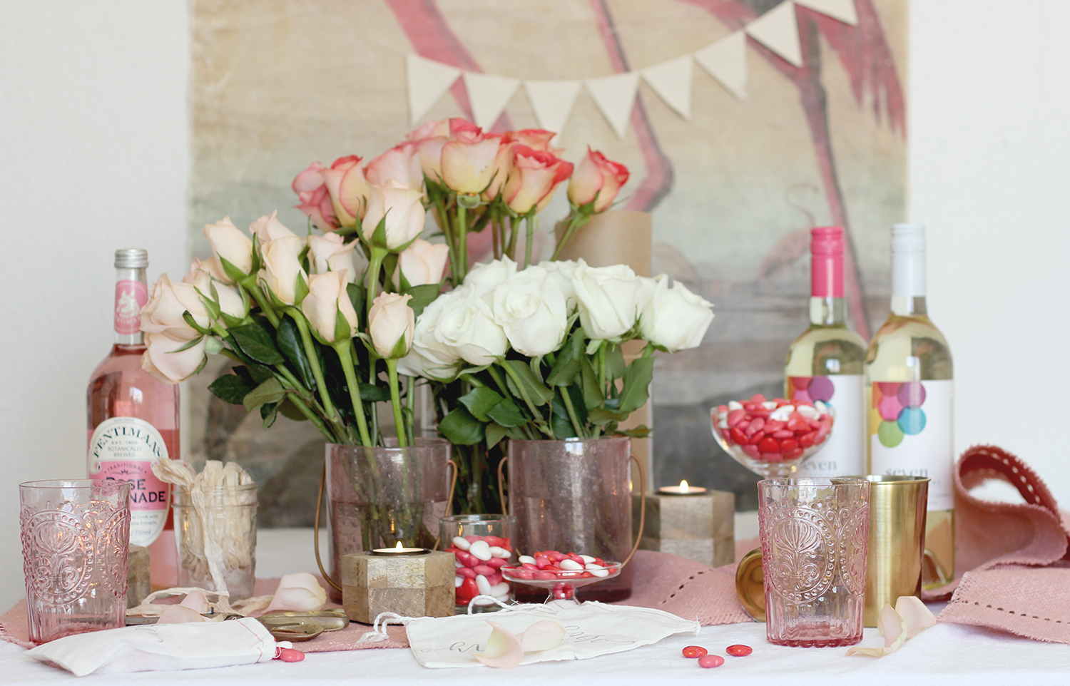 Treat your galentines to a DIY bouquet bar | A Fabulous Fete