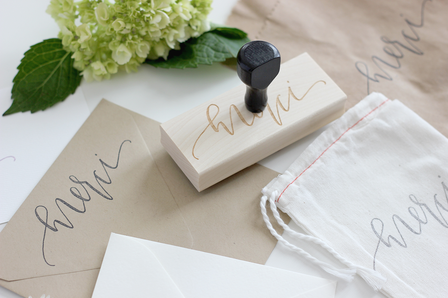 Hand Made Stamp | A Fabulous Fete