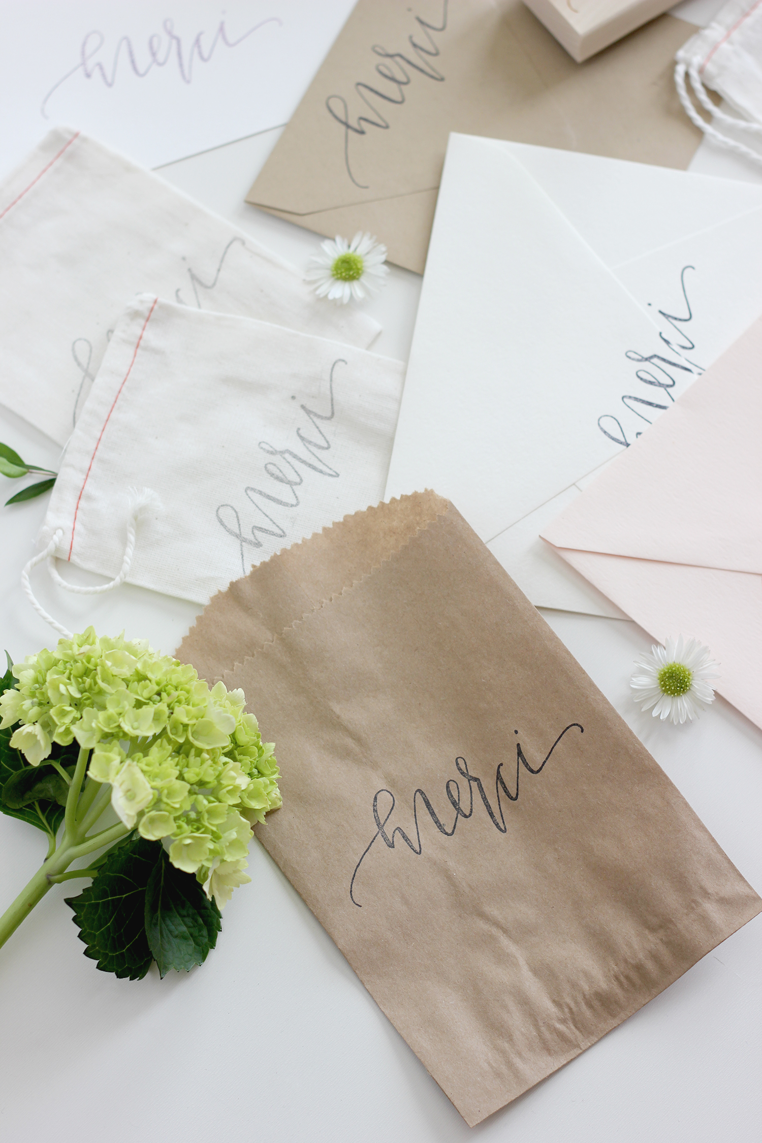 Calligraphy Stamp DIY | A Fabulous Fete
