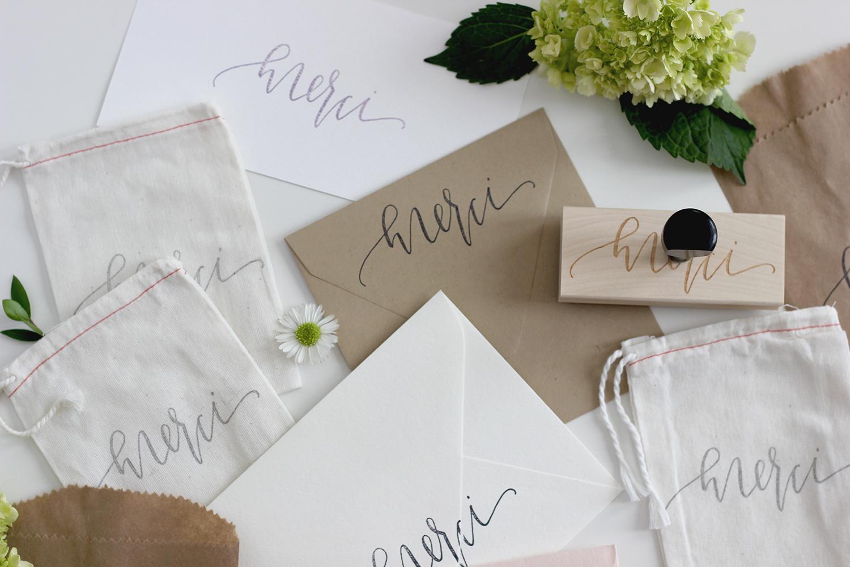 Handdrawn Calligraphy on Envelopes | A Fabulous Fete