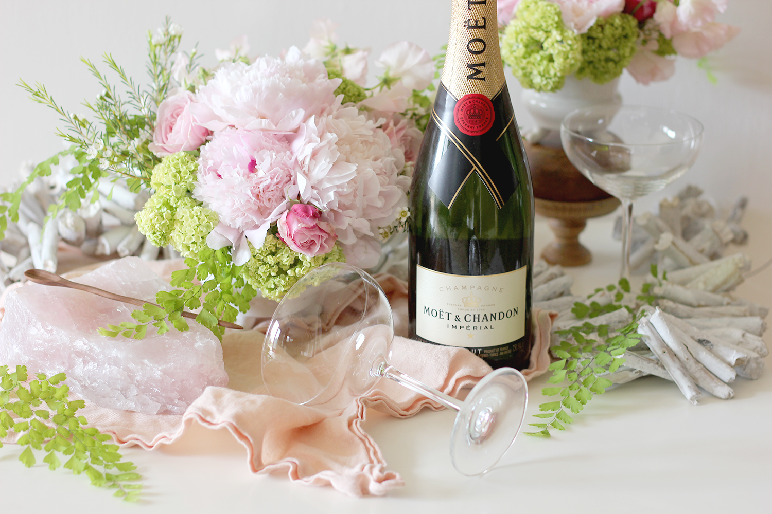 Drink Ideas with Champagne   A Fabulous Fete