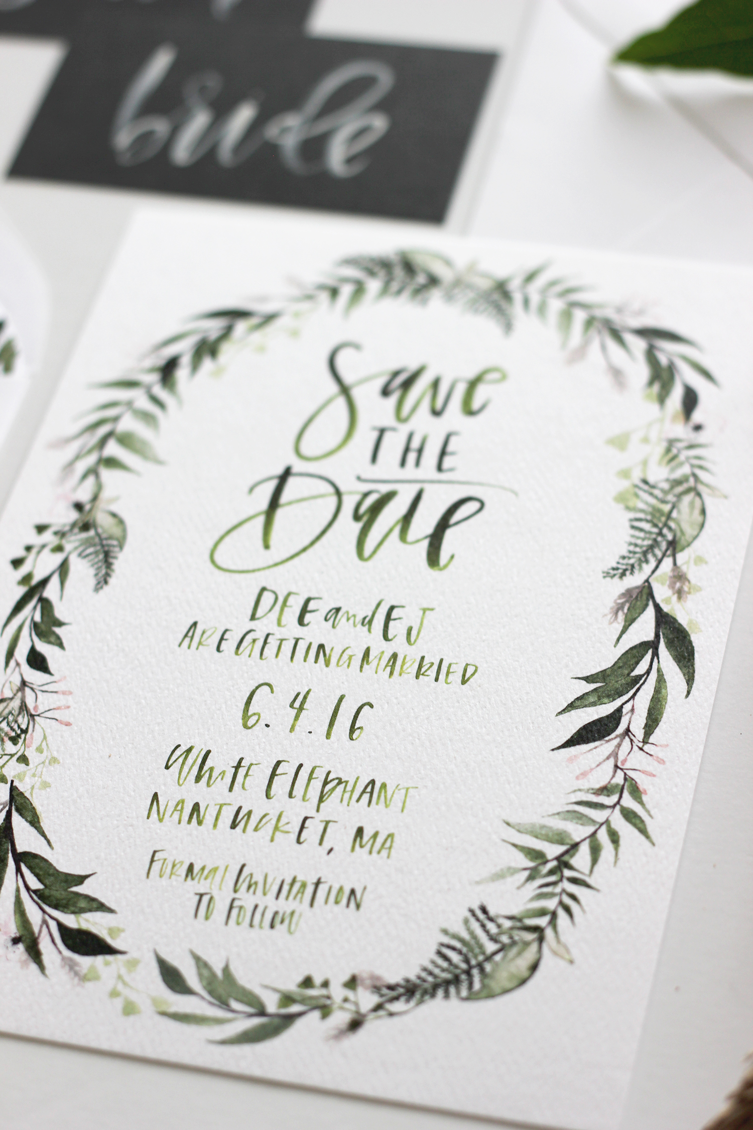 Custom Wedding Stationary | A Fabulous Fete