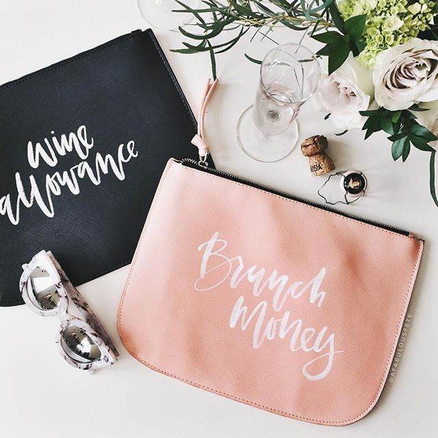 Brunch and happy hour clutch diy | A Fabulous Fete