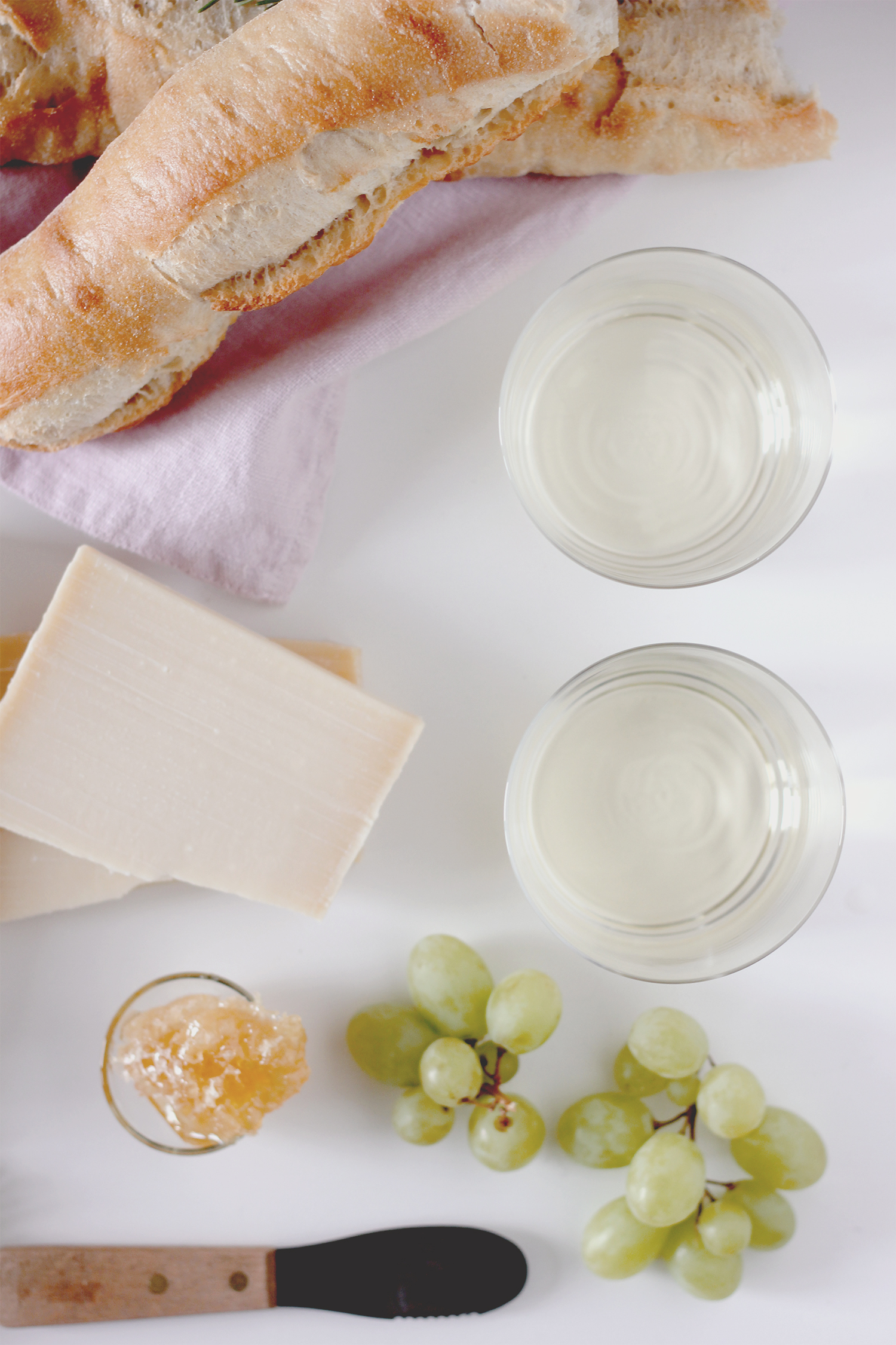Perfect pairings for your white wine | A Fabulous Fete