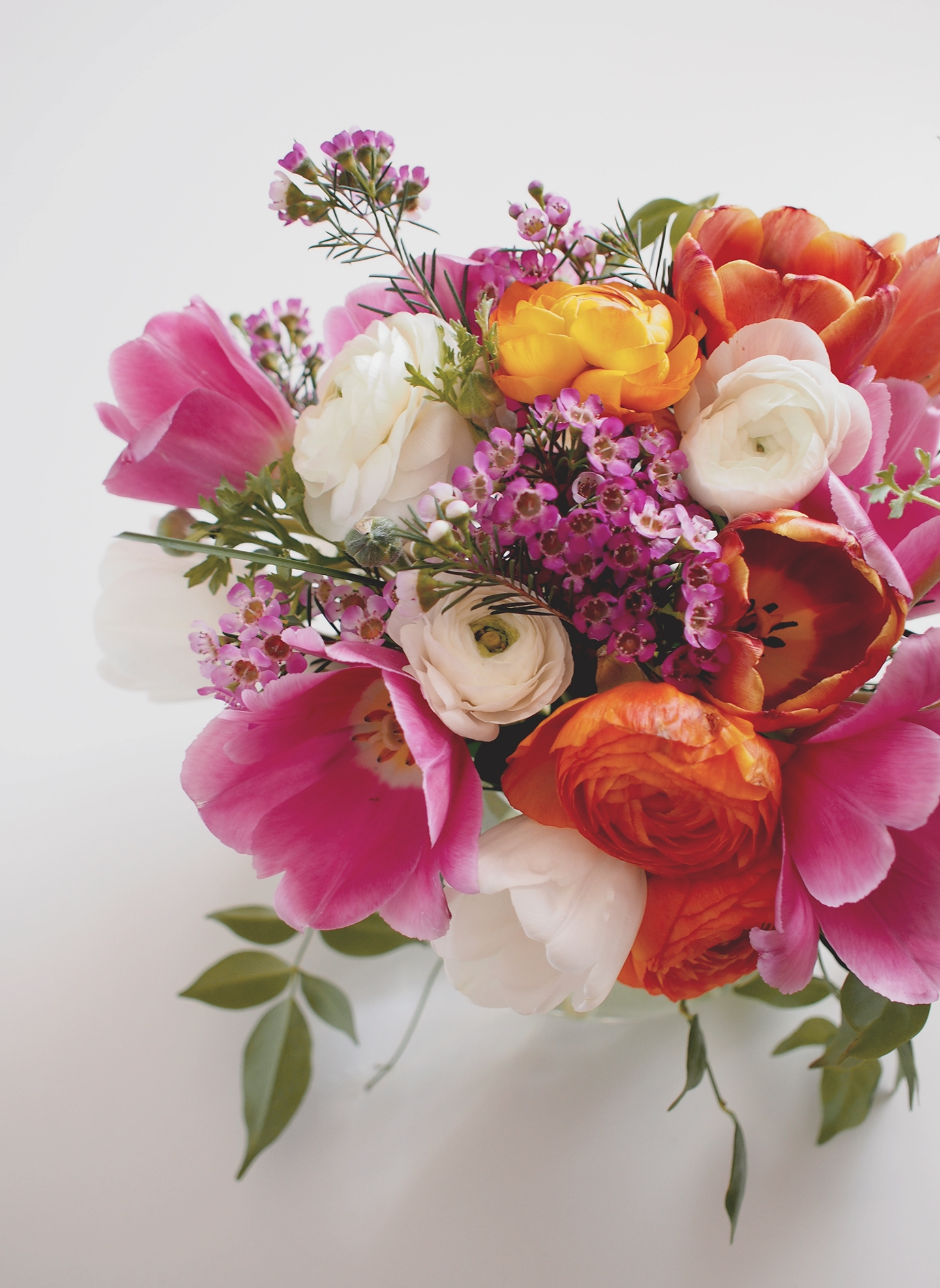 Tulips and Ranunculus | A Fabulous Fete