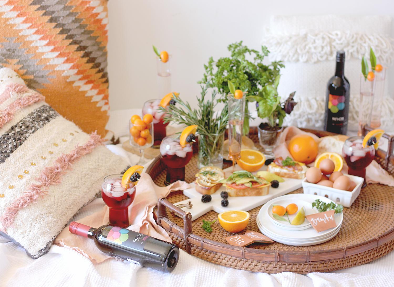 Spring picnic brunch  | A Fabulous Fete