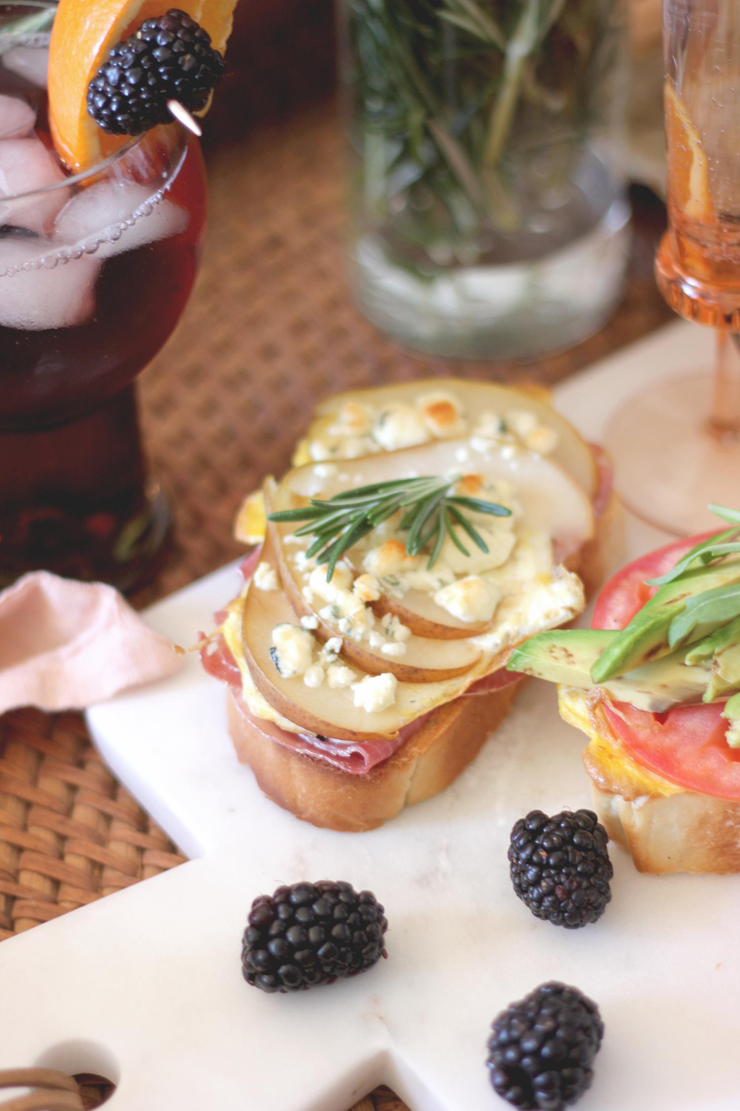 3 brunch toast recipes | A Fabulous Fete