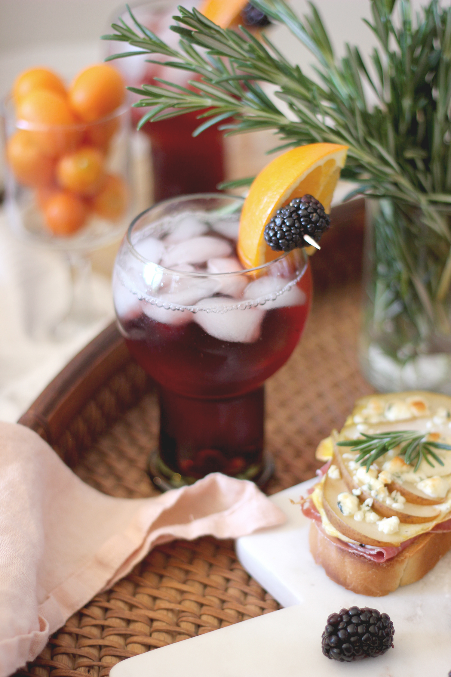 Toast and Sangria recipes for a spring brunch | A Fabulous Fete