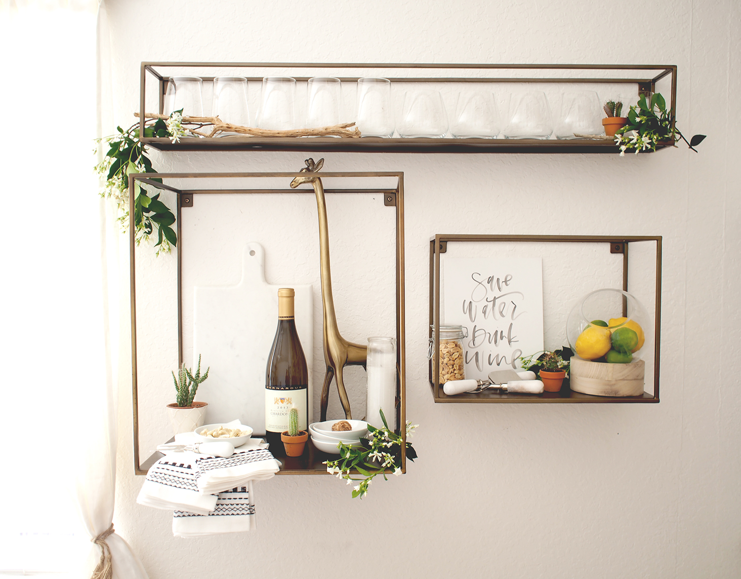 How to create an entertaining nook | A Fabulous Fete