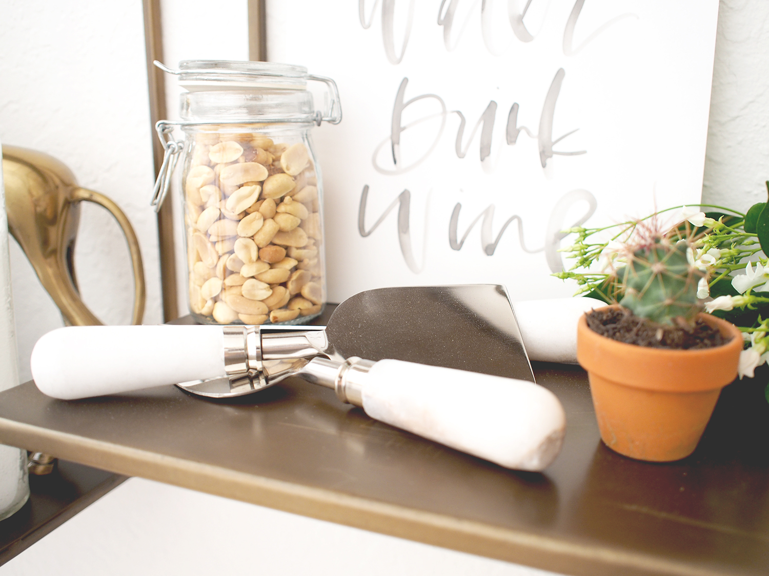 The best look cheese knives i've seen in a long time, from Pottery Barn | A Fabulous Fete