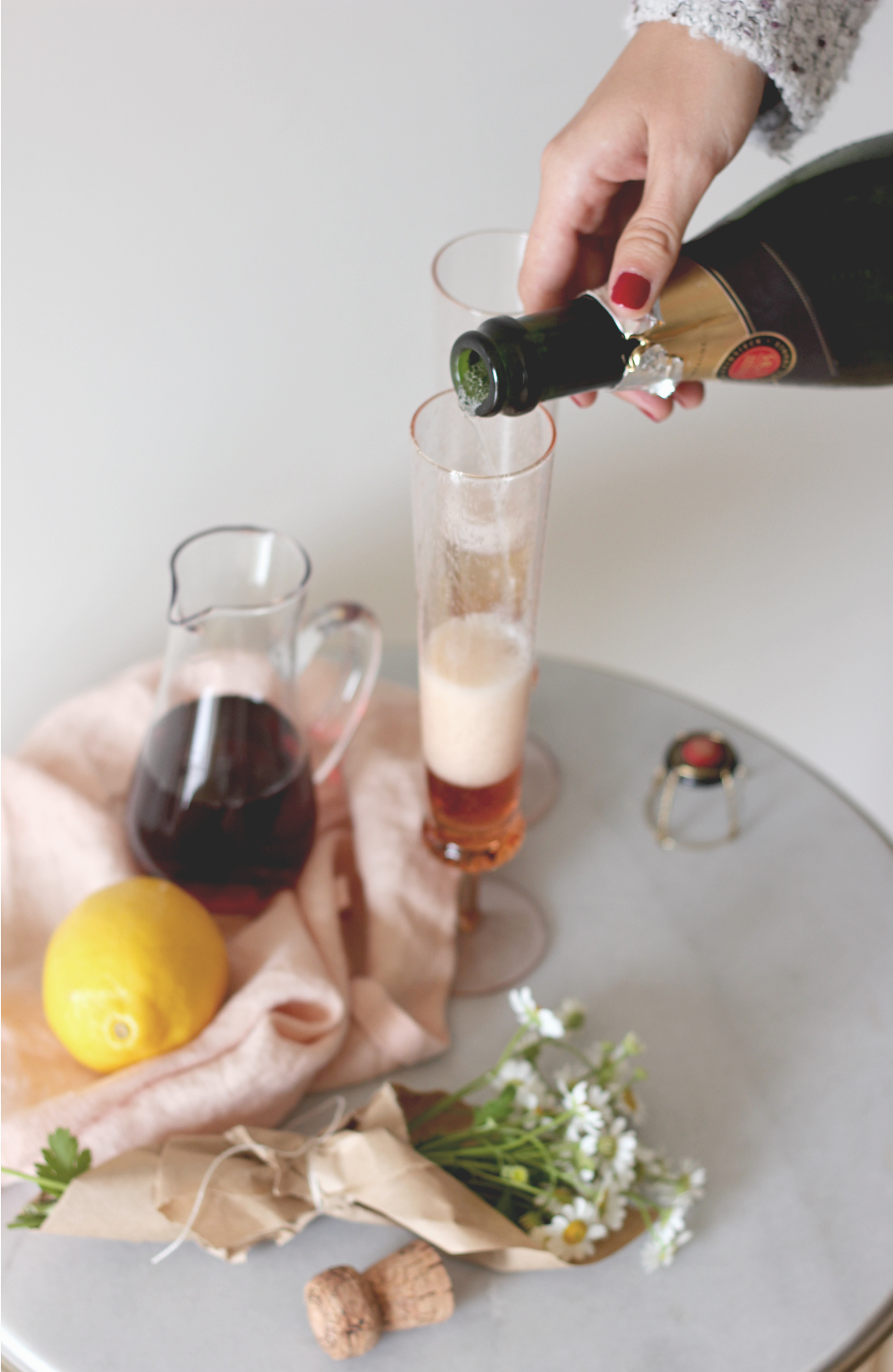 Champagne coktail recipes | A Fabulous Fete