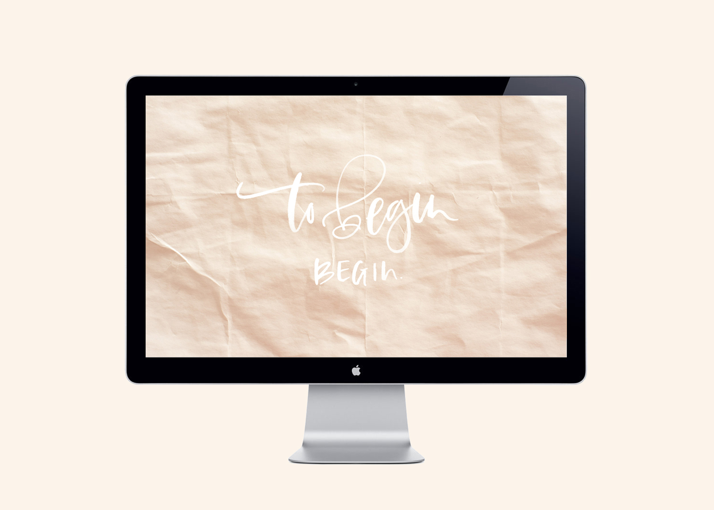 Hand Lettered Desktop Downloads   A Fabulous Fete