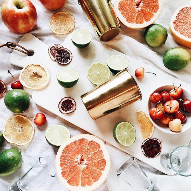 Fresh fruit cocktails for summer! | A Fabulous Fete