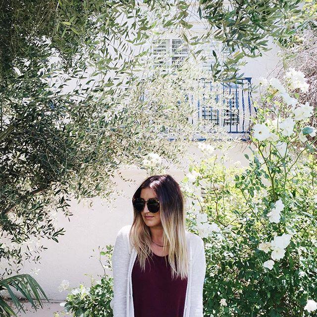 Rose bush selfies at the parker, palm springs | A Fabulous Fete