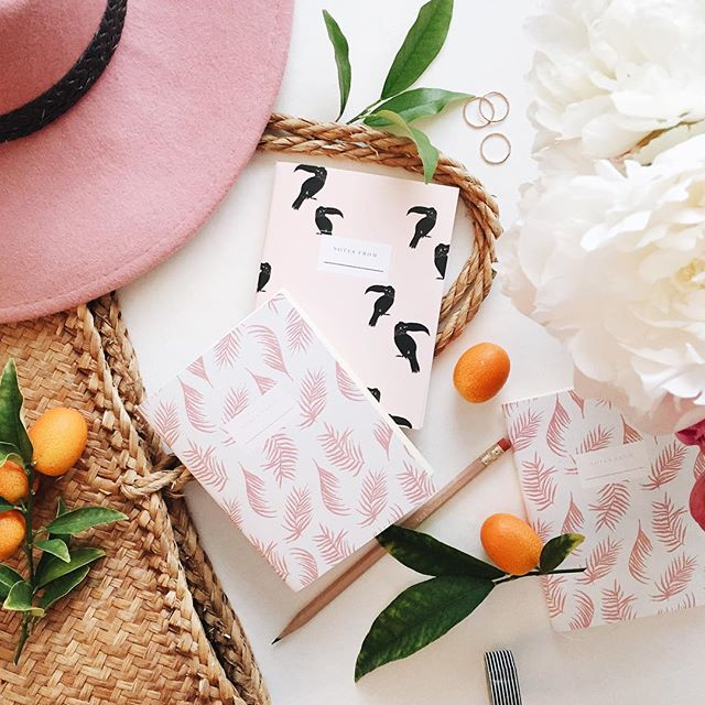 Travel notebooks from Wilde House Paper | A Fabulous Fete