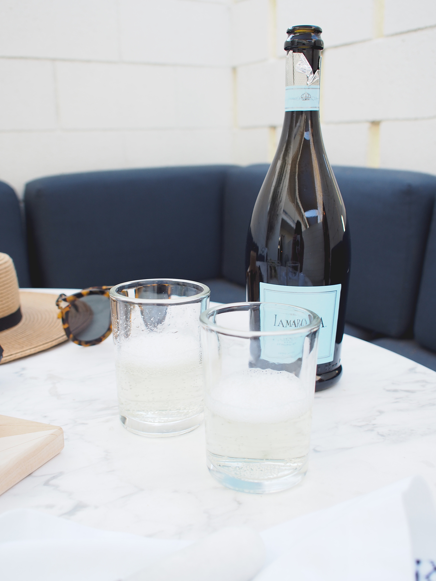A wine and cheese night is not complete without a little prosecco | A Fabulous fete