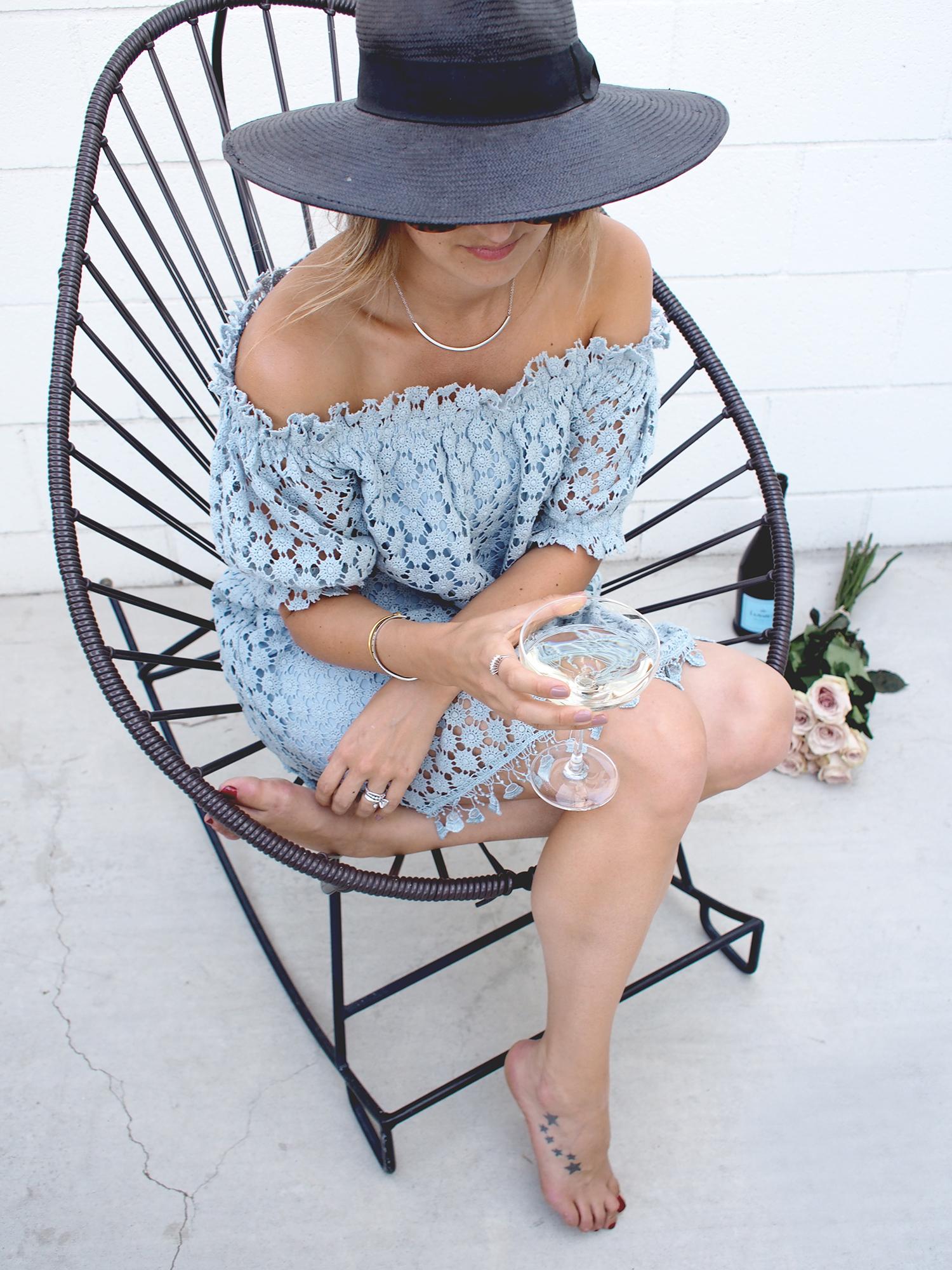 Palm Springs outfit details   A Fabulous Fete