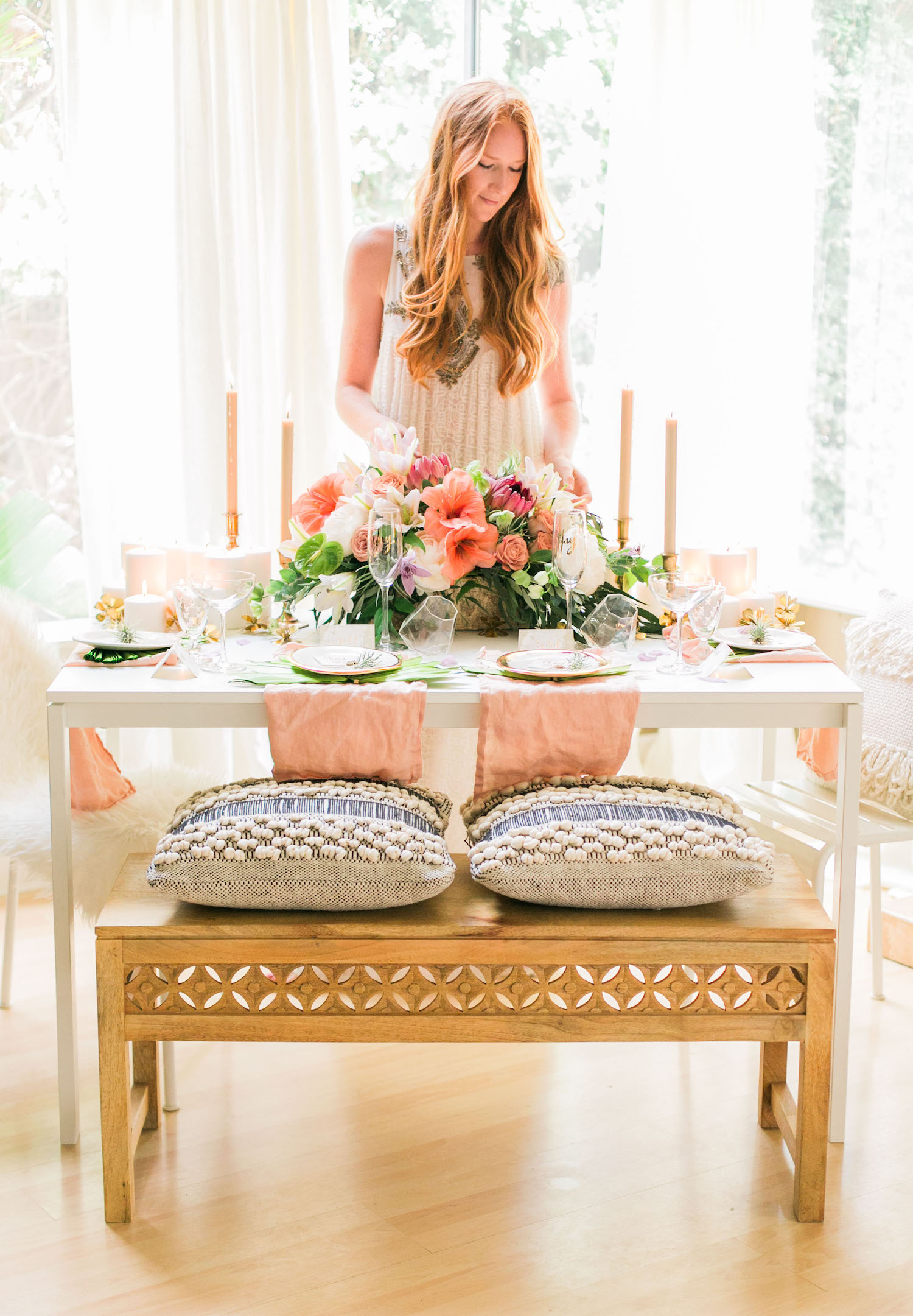 How to host a tropical inspired rehearsal dinner at home | A Fabulous Fete