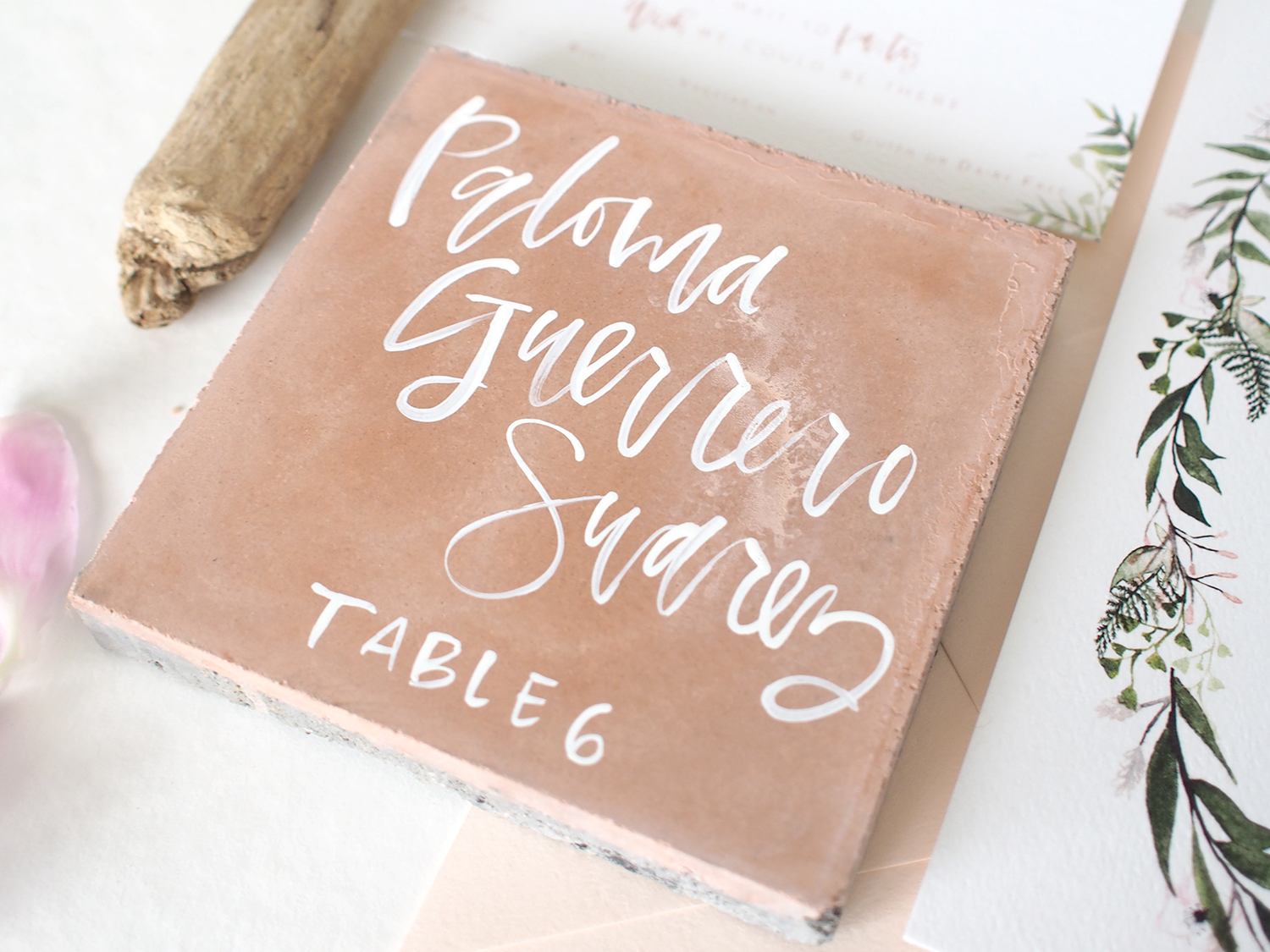 custom unique wedding place cards | a fabulous fete