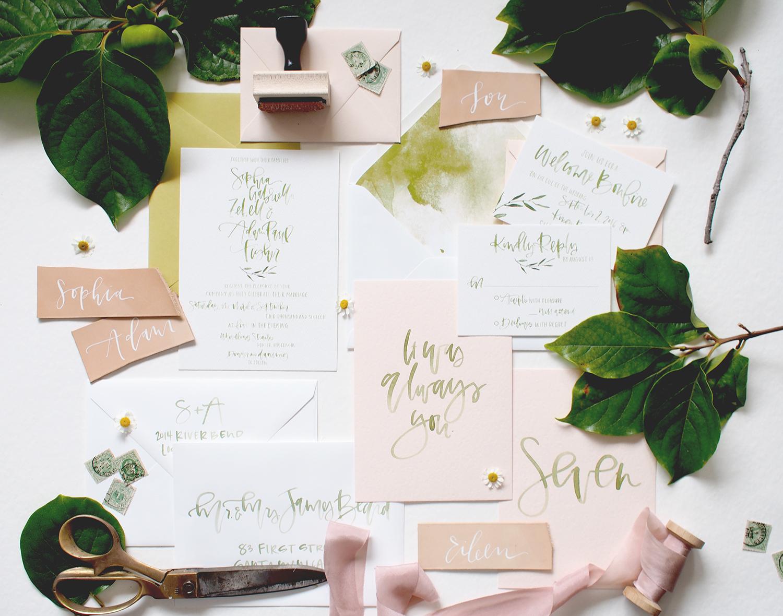 botanical wedding suite | A Fabulous Fete