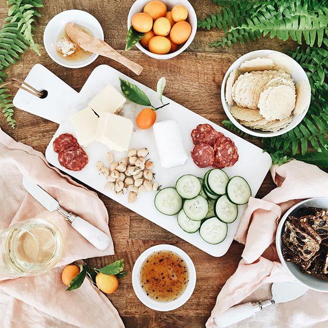 Sunday funday cheeseplate | A Fabulous Fete