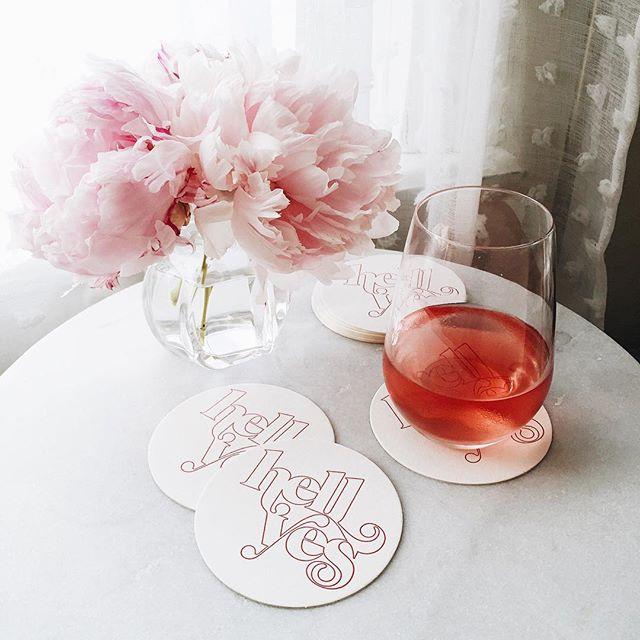 Hell yes, rosé | A Fabulous Fete
