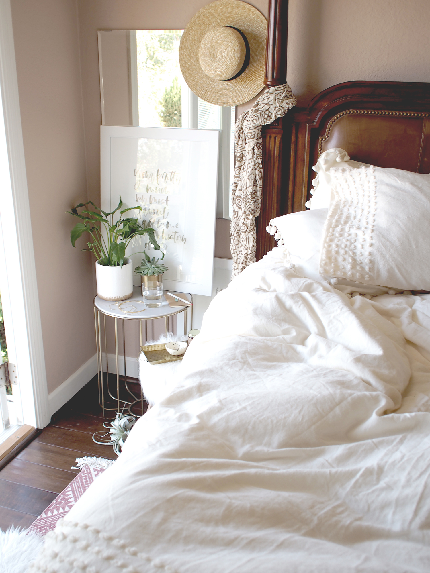 How to give your bedroom a quick update for summer | A Fabulous Fete