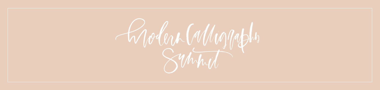 modern calligraphy summit   a fabulous fete