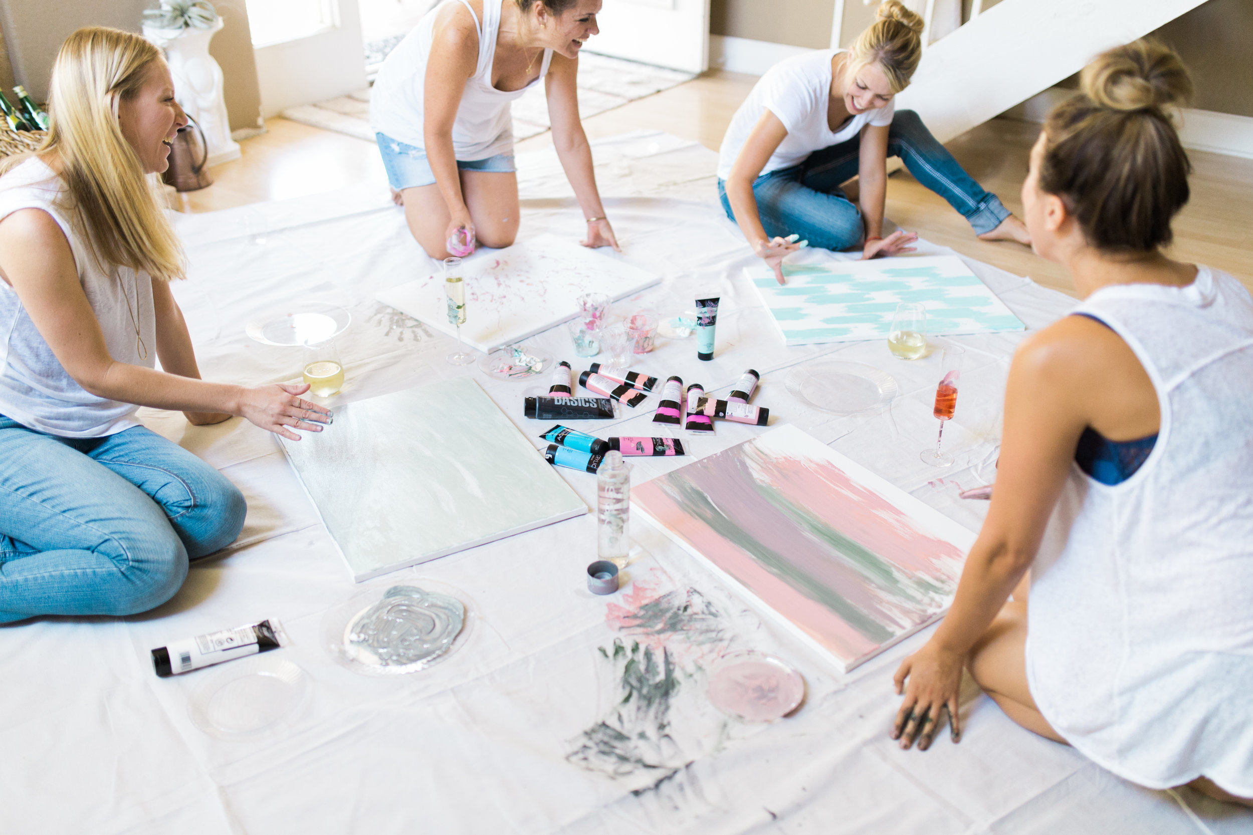 Girls night ideas that help you get creative while catching up | A Fabulous Fete