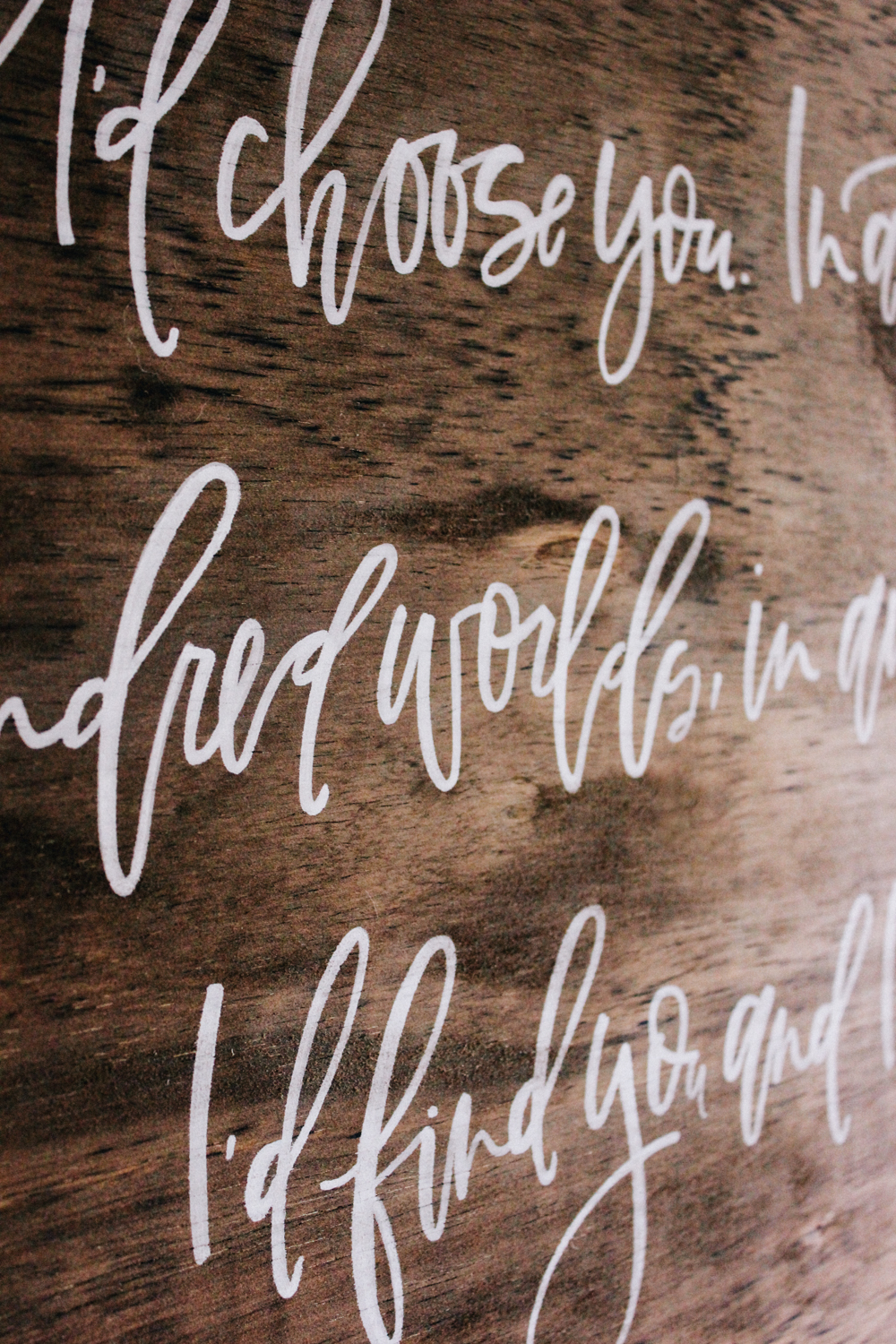 Custom quote signs for your wedding | A Fabulous Fete