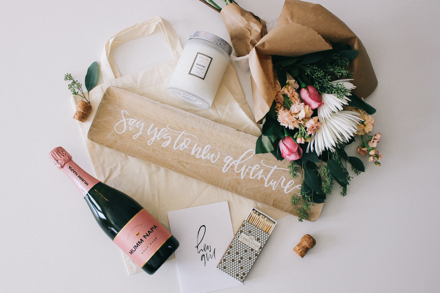Simple Ideas For A House Warming Or Hostess Gift Lauren Saylor Stationery Interiors Design
