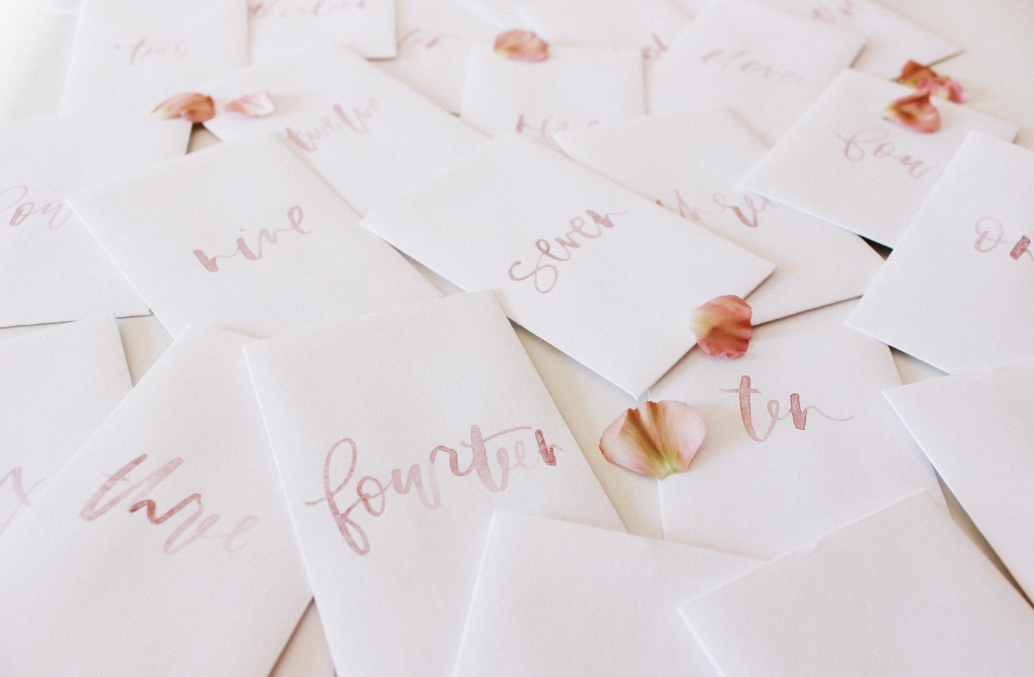 Mini Envelopes for a 14 day Valentines Advent Calendar | A Fabulous Fete