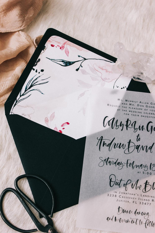 Envelope liner DIY   A Fabulous Fete