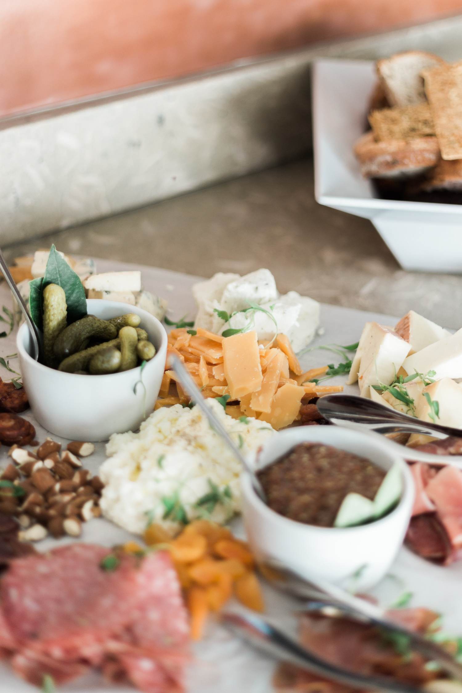 Cheese + Meat platter for our AFF Holiday party | A Fabulous Fete